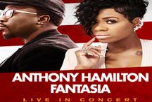 Anthony Hamilton & Fantasia Live in Concert / Thursday, June 16th at the USF Sun Dome