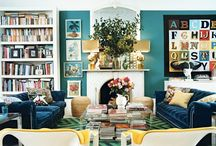 INSPIRED BY FARROW&BALL ST GILES BLUE... / MOOD/ INSPIRATIONAL IMAGES
