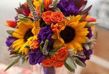 zluto-fialova svatba