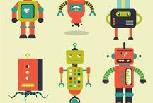 Роботы арт