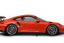 Porsche 911 GT3 RS / výkon...............................368 kW (500PS) při 8250 1/min zrychlení z 0 na 100.........3,3 s  max. rychlost....................310 km/h kombinovaná spotřeba ....12,7 emise CO2 g/km...............296 cena od.............................5 mil.