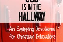 Teacher Believer / This is a collaborative board for teachers who follow Jesus Christ.