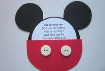 Party ideas: Mickey