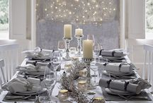 Christmas silver & white