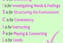 Loving Discipline / Resources for disciplining children for Christian parents.