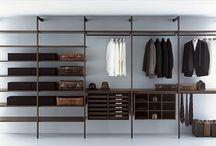 Slaapkamer garderobe