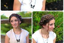 Hair / Cute girly hairstyles