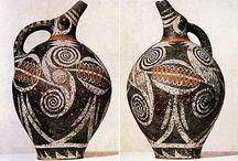 ΜΙΝΩΪΚΑ ΚΕΡΑΜΙΚΑ.....Minoan-ceramic / Μινωϊκά Αγγεία και Ειδώλια...Minoan Pottery and Figurines....Minoïká Angeía kai Eidólia...ceramica minoica