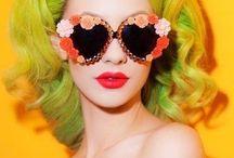 Bow clips - sunglasses
