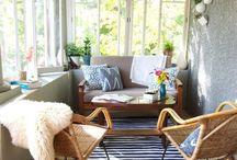 PORCH &BALCONIES / creating a perfect space for relaxation on your balcony or porch
