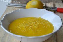 Crema sl limone senza burro e latte