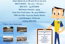 Initial Public Offering / Sadbhav Infrastructure Limited