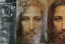 God,Jezus, Maria engelen en heiligen