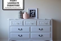 Painted Furniture- WHITE