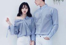 Korean Couple / \(*♡.♡*)/