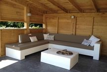 Loungeset hout