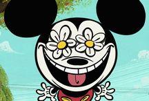 A Mickey Mouse Cartoon