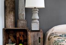 IDEAS decoración RECICLADO / by MOBLES CAMBRILS