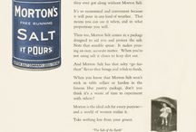 Vintage Morton Salt Ads