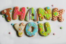Cookies con letras