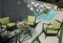 Mid-Century Modern Landscape Design / Inspiration and ideas for mid-century modern landscape design. Go to http://www.landscapingnetwork.com/garden-styles/Mid-Century-Modern-Landscape-Design.pdf for a printable, hi-res inspiration guide to this style.