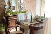 Mesas de jantar antigas