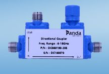 Directional Coupler / Panda Microwave offers a wide selection directional and bi-directional RF couplers, Up to 50GHz and Standard coupling values of 6, 10, 20, 30 and 40 dB are available . We can also customize a model according to your specific requirements.