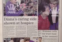 21 October 1992 Princess Diana opens Heart of Kent Hospice, Aylesford & Royal Victoria Place Shopping Centre & visits William Harvey Hospital, Ashford / Visit to Kent
