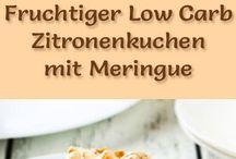 LowCarb Kuchen Zitrone