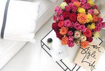 Blumen und Tischdeko