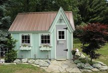 'She' Sheds (The female man cave) / by Laurie Moore