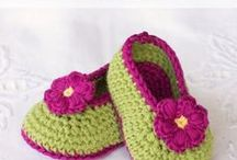 Baby boots crochet