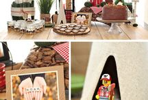 {CAMPING} baby shower