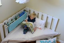 Nook reading space for kids