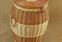 Wiklina - Kosze na bieliznę / Wicker - Laundry Baskets Wiklina - kosze na bieliznę