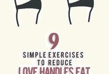Exercises to Reduce Love Handles fat