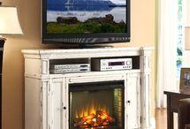 fireplaces / by Carolyn Nicholson Dunkin