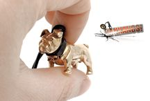 Vakkancs English Bulldog mini-sculpture jewelry (3D) (pendant, earrings, keychain, etc) / The first Vakkancs English Bulldog were made in 2012. The Creator is Katalin Kurta jeweller, technical leader, and one of the founder owners of the Ékszergyár Kft. (Jewelry Factory Ltd.).  Dog Jewelry material: solid sterling silver (pendant, earrings, etc) Deg keychain material: solid bronze.