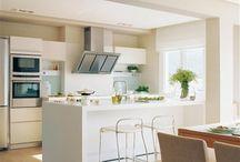 cocina salón integrados