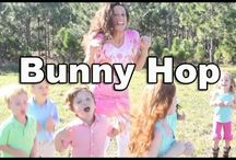 Easter Bunny Hop Song / Action song that is perfect for the holiday season. Act like a bunny rabbit. Hop! Hop! Hop!