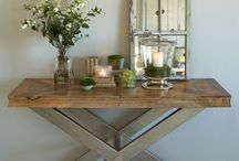 Reclaimed Rustic living / Beautiful Rustic interiors
