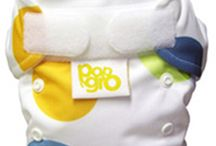 PopnGro Reusable Nappies / PopnGro nappies are available in both pocket and all-in-one styles. Take a closer look. Find more here: http://www.hunnybums.com/brands/PopnGro