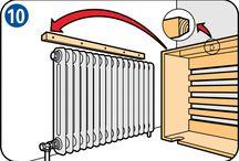 radiátor takaró