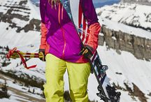 High Performance Ski & Snowboard Gear / When chairlifts are your friend, check out these styles to keep you looking your best on the slopes.