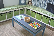 Kids room ideas / by Lulu
