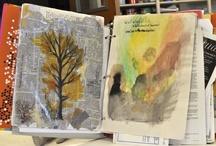 Cuadernos y empaste de libros