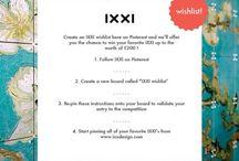 IXXI wishlist