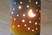 Lampy svícny