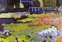 """Wassily Kandinsky """"fauve"""""""