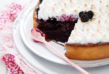Blueberries... / Desserts and dishes made with blueberries.